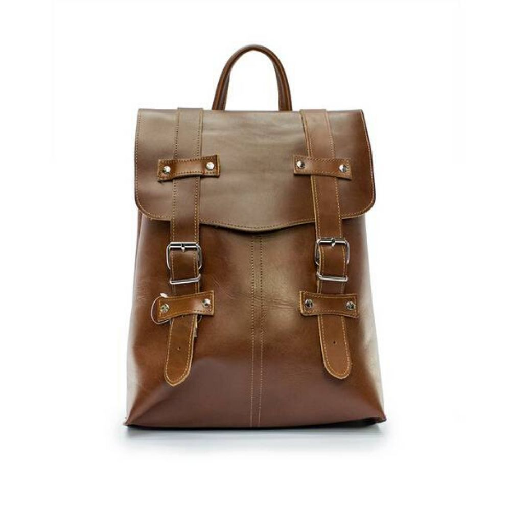 LEATHER BACKPACK 1308 TREY